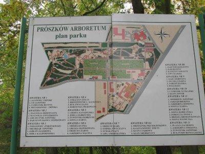 Wizyta w Arboretum